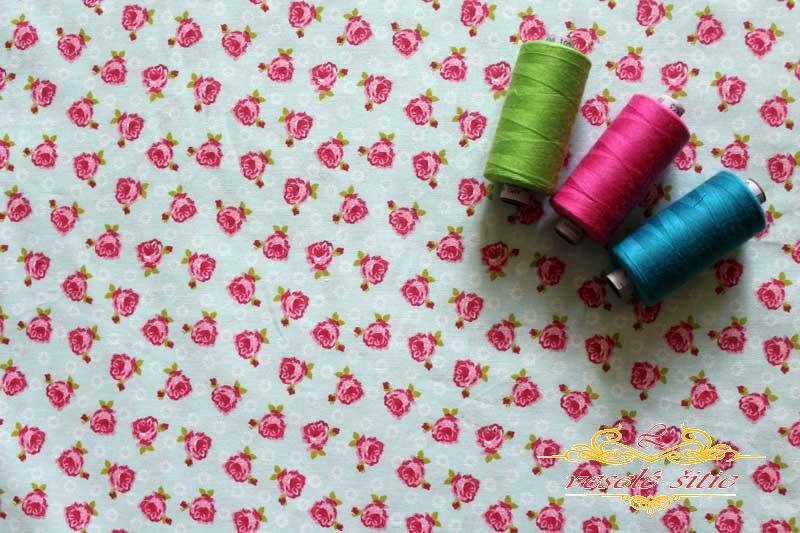 Bavlna Ružičky mint  ad1bee7a2db